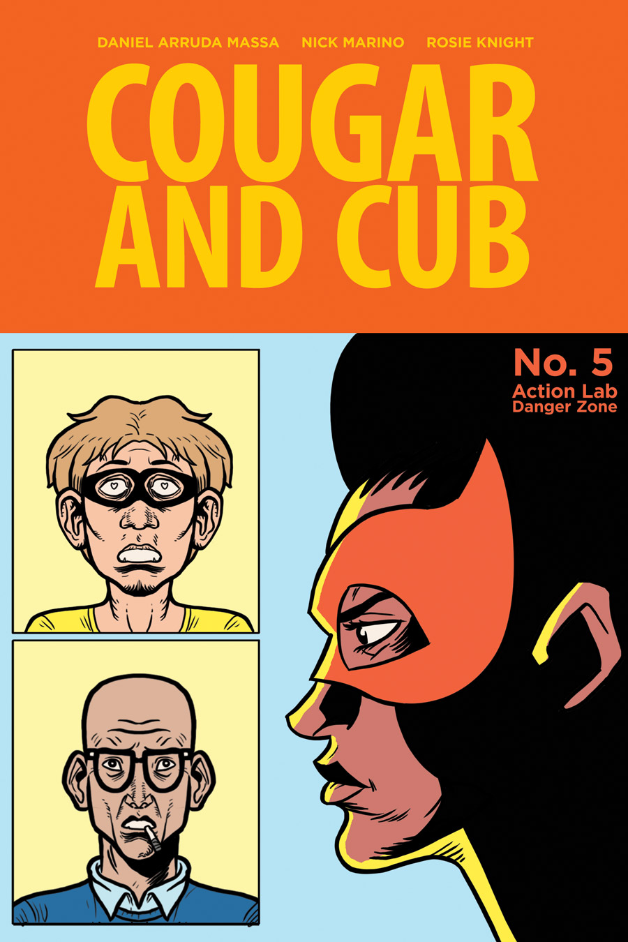 Cougar and Cub #5 flashback cover