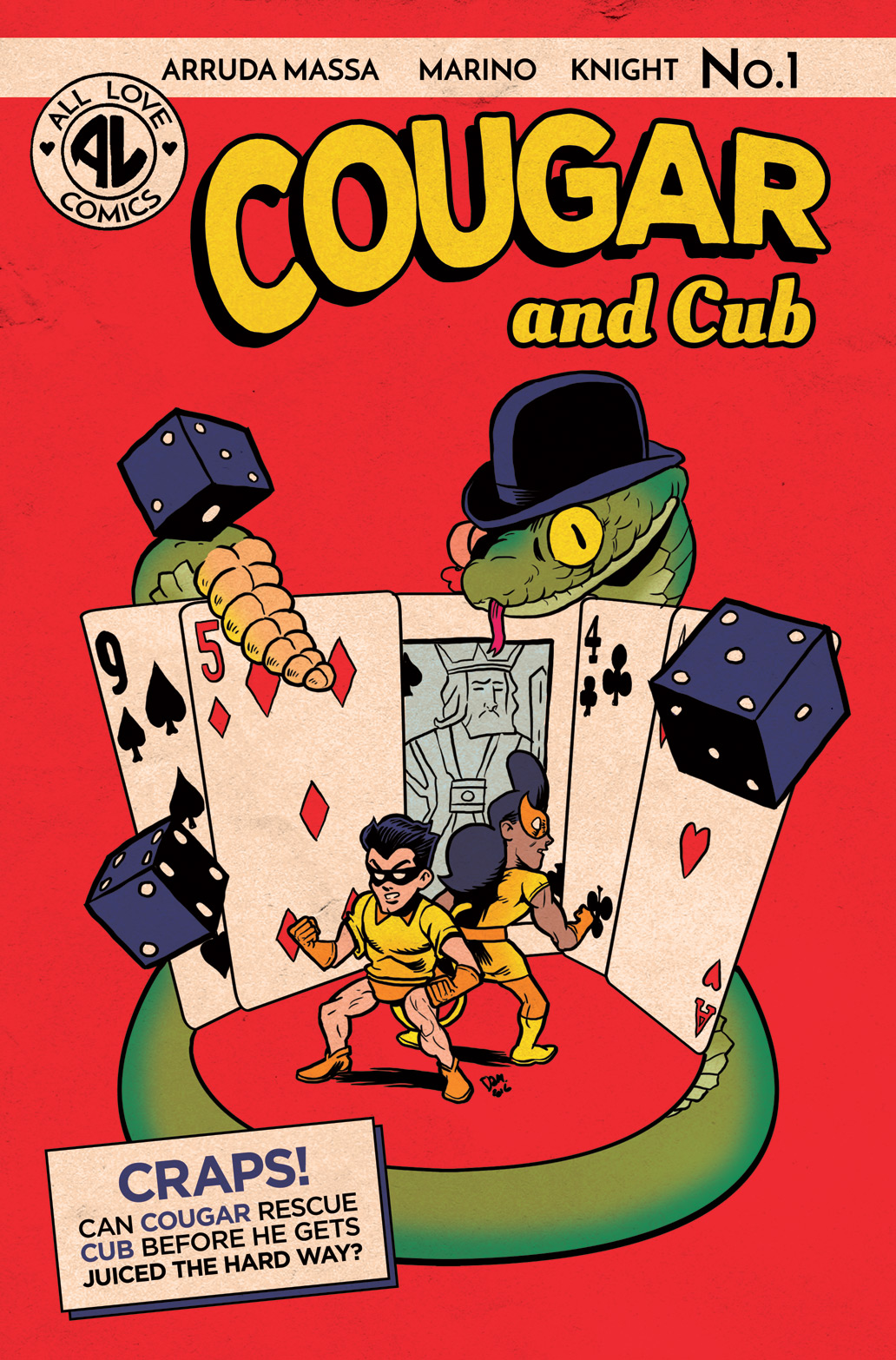 Cougar and Cub #1 flashback cover