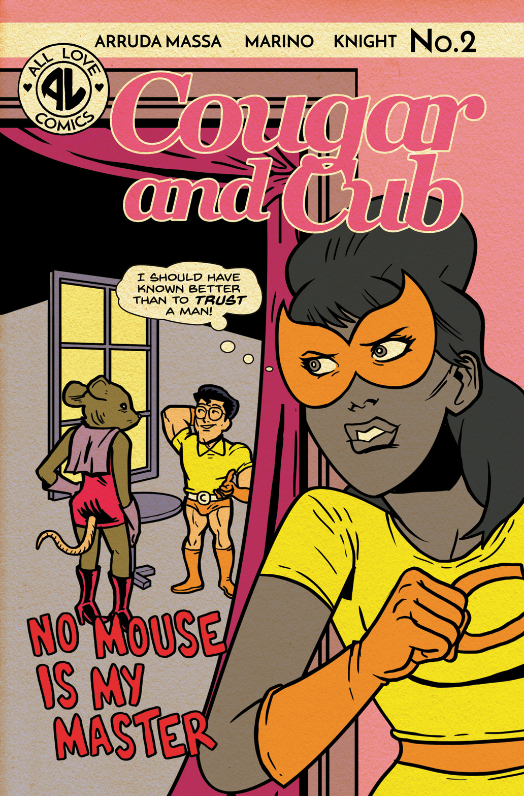 Cougar and Cub #2 flashback cover